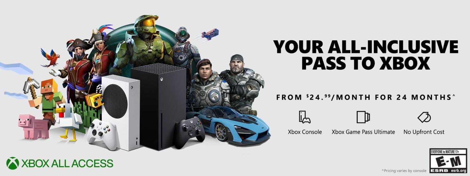 Xbox All Access no llegará a España ni Latinoamérica