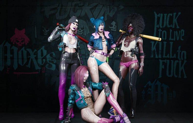 Las bandas de Cyberpunk 2077 protagonizan estos espectaculares fondos de pantalla 1