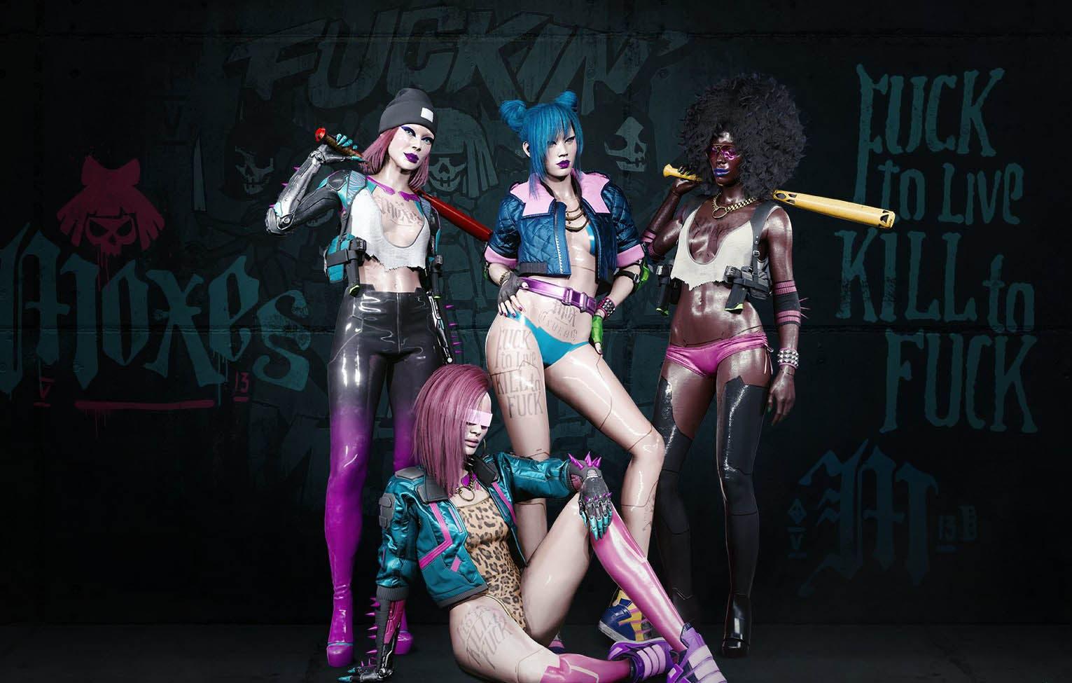 Las bandas de Cyberpunk 2077 protagonizan estos espectaculares fondos de pantalla 5