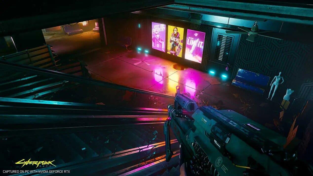 Cyberpunk 2077 con Ray Tracing