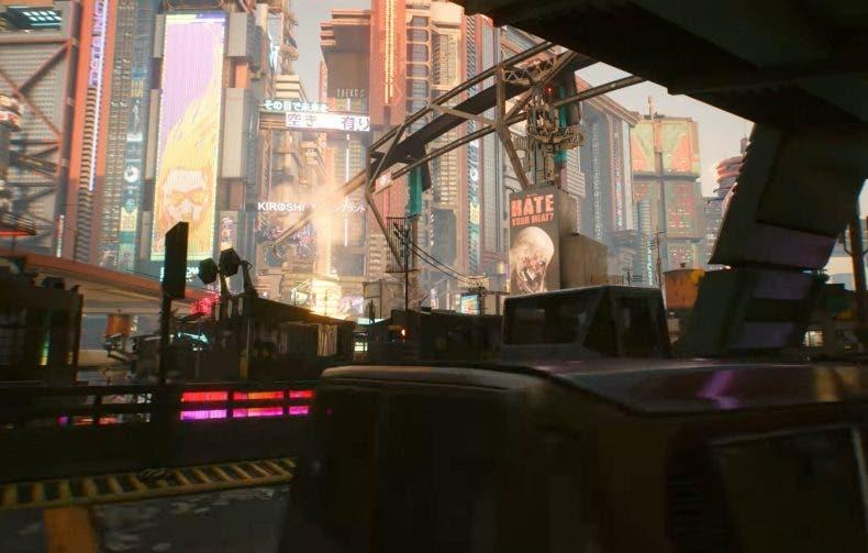 rendimiento de Cyberpunk 2077 en Xbox One y Xbox Series X