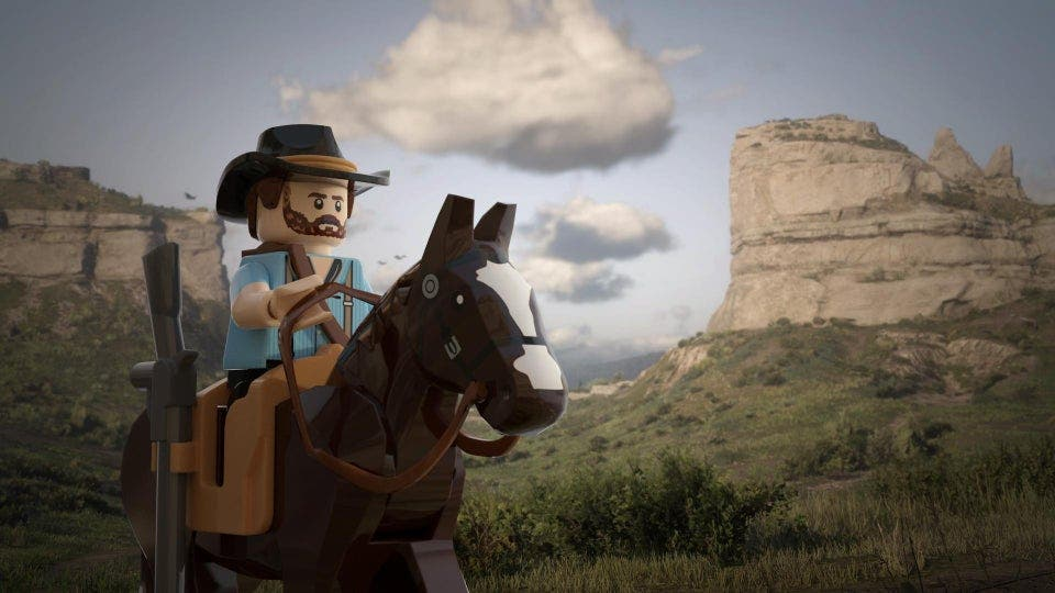 Red Dead Redemption 2 en LEGO