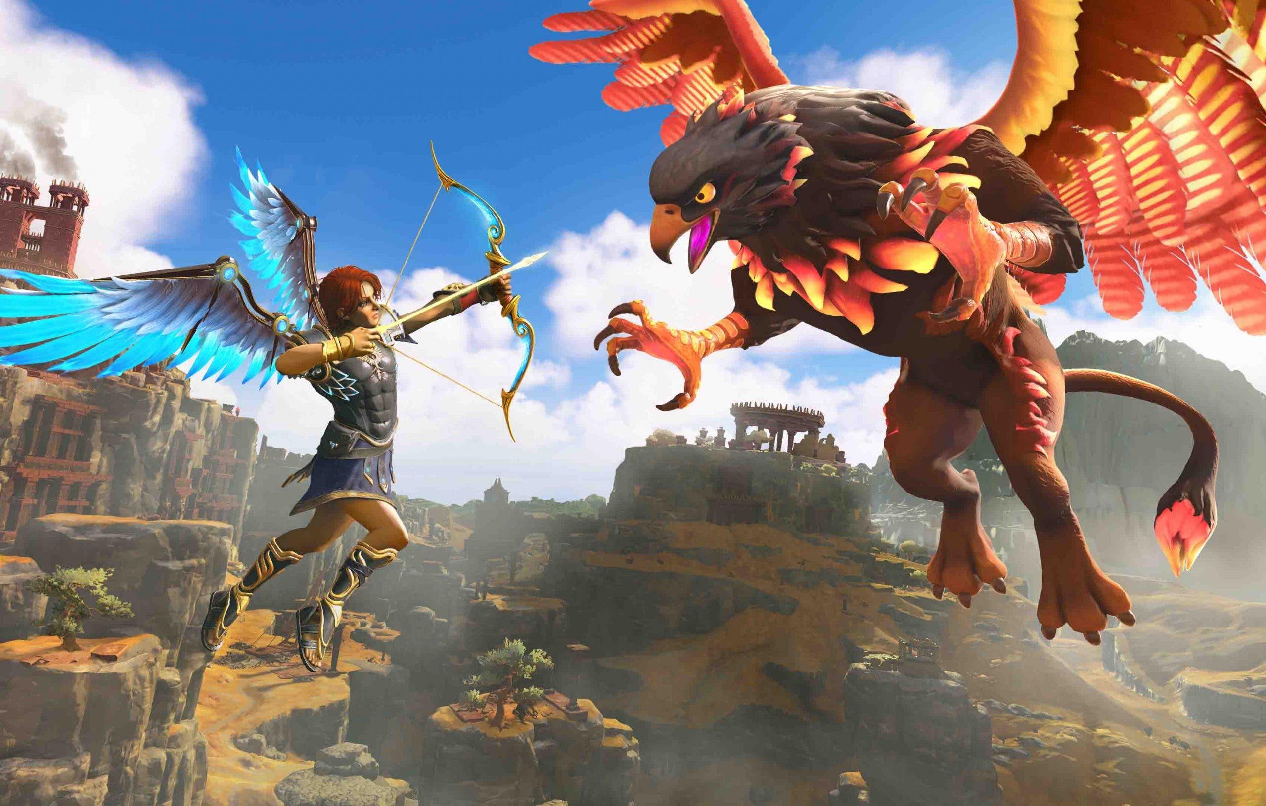Immortals Fenyx Rising descubre en diferentes vídeos su historia, creación de personaje y el primer boss 5