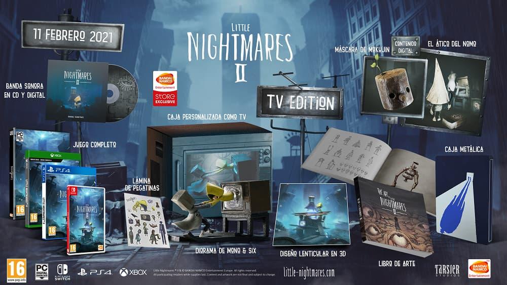 Edición coleccionista de Little Nightamres 2