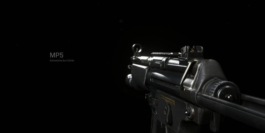 mejor build del MP5 en Call of Duty: Modern Warfare
