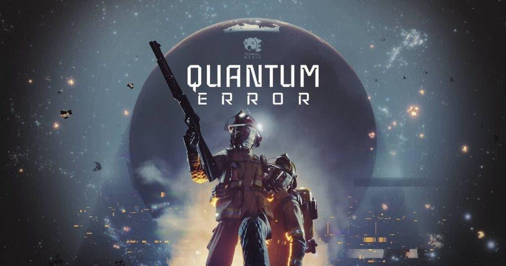 Se muestra el gameplay de Quantum Error