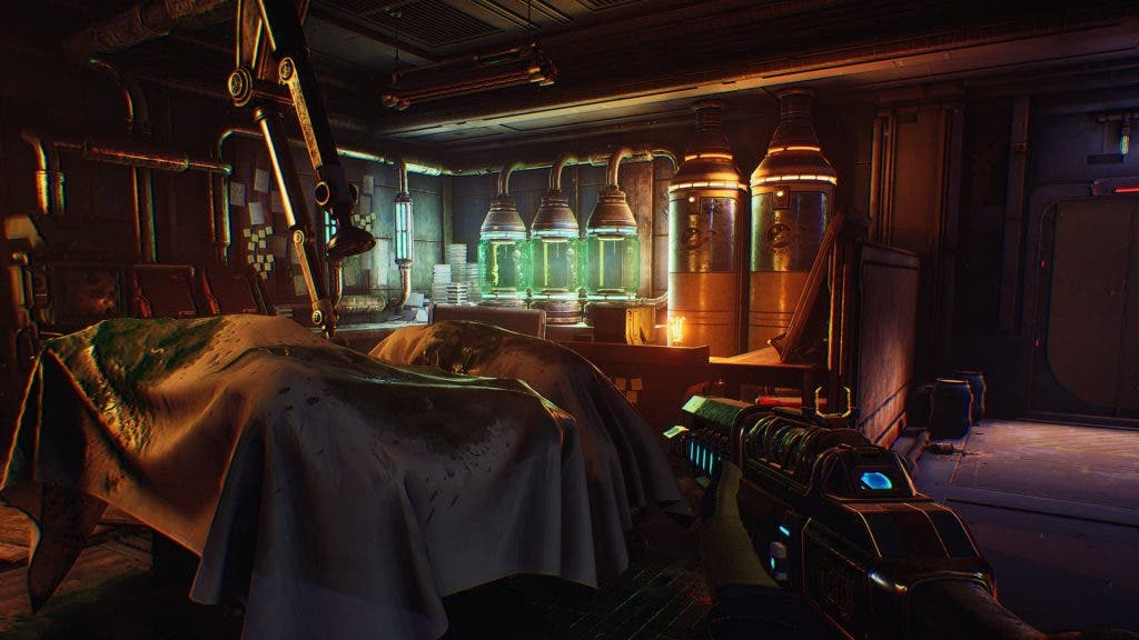 Captura de pantalla de The Outer Worlds: Peligro en Gorgona