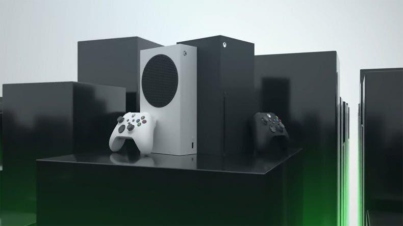 diseño oficial de las cajas de Xbox Series X y S