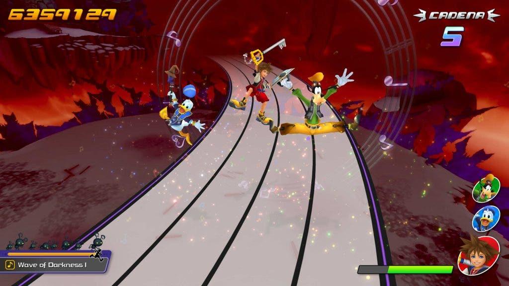 Impresiones de Kingdom Hearts Melody of Memory