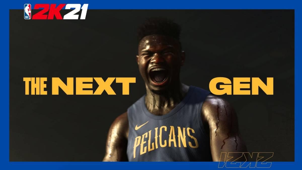 Comparan los gráficos de NBA 2K21 next gen con la actual generación