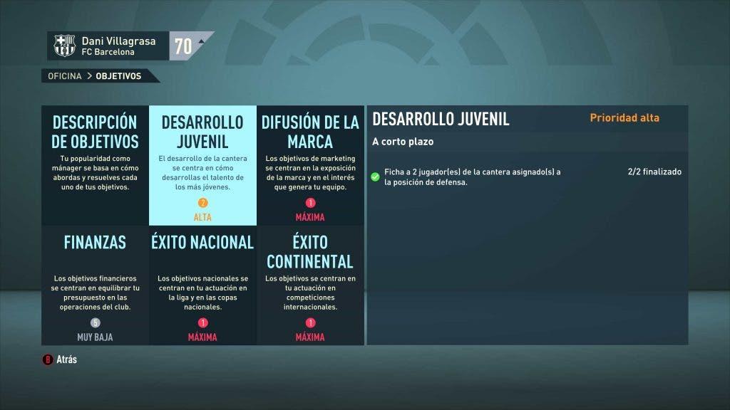 Guía modo carrera FIFA 21: 10 trucos para dominarlo 1