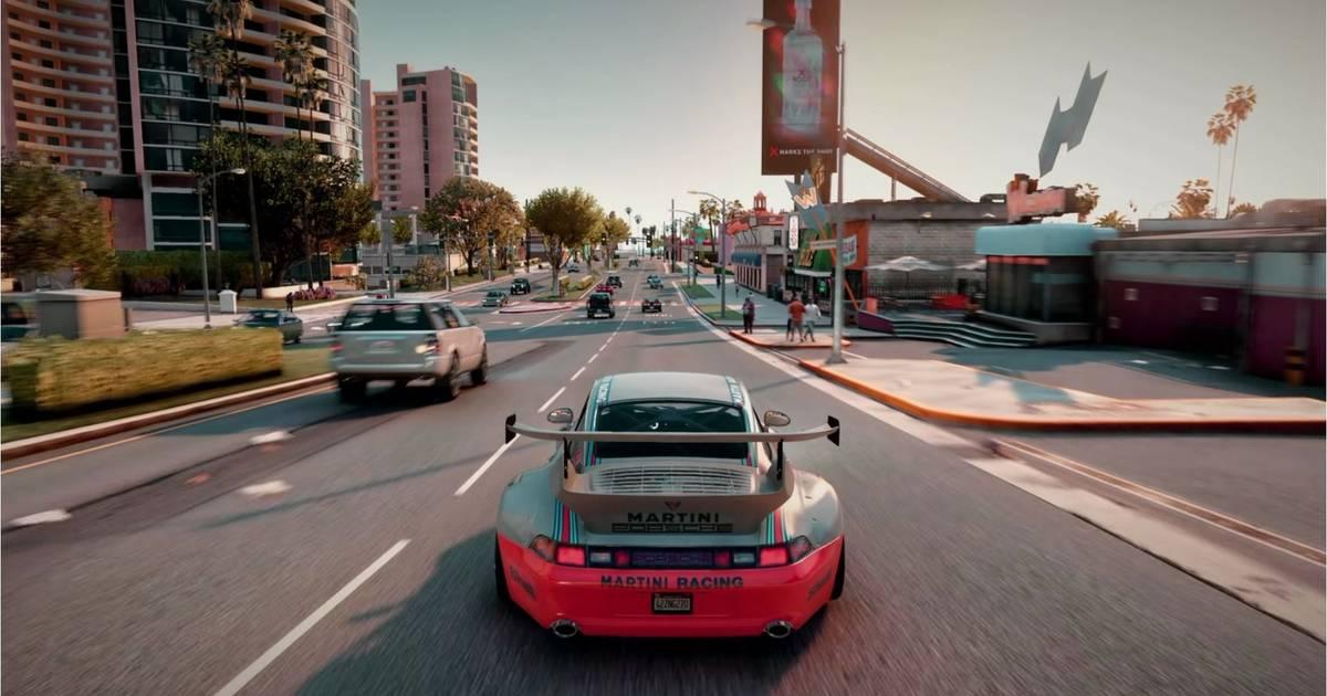 GTA V en Xbox Series X a 4K