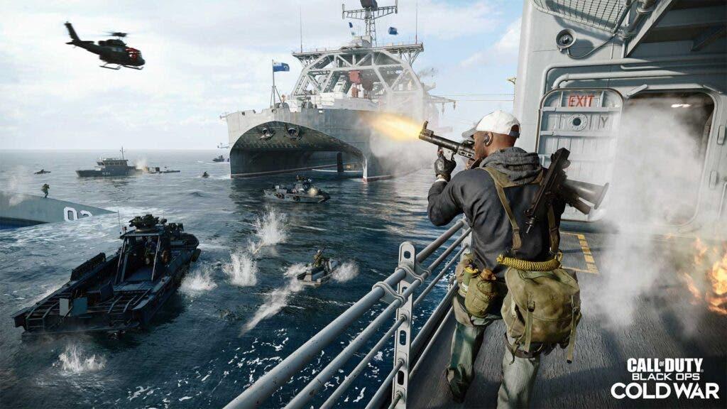integración de Call of Duty: Black Ops Cold War y Warzone