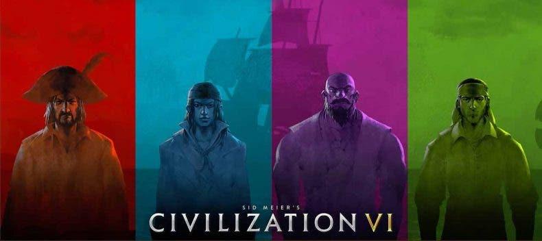 Civilization VI presenta un nuevo modo de juego con los piratas como protagonistas 1
