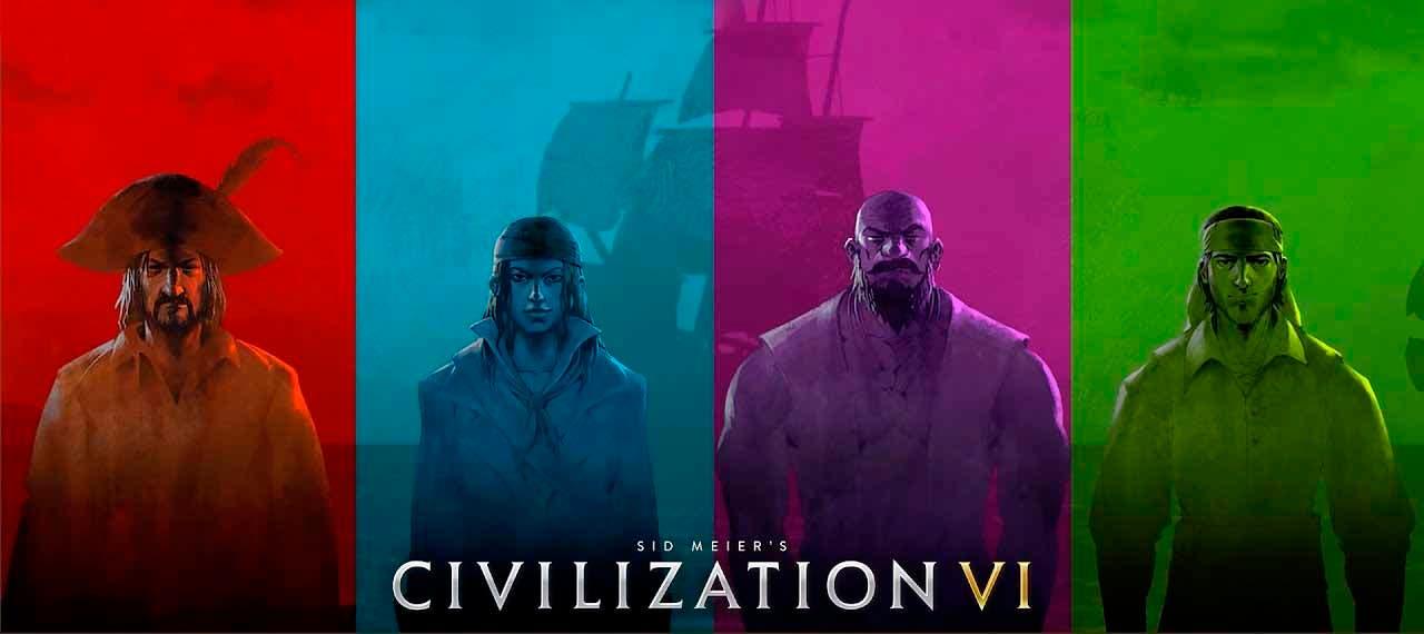 Civilization VI presenta un nuevo modo de juego con los piratas como protagonistas 2