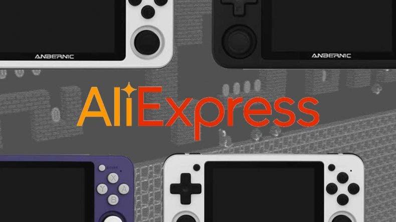 7 consolas retro-portátiles de oferta en Aliexpress 1