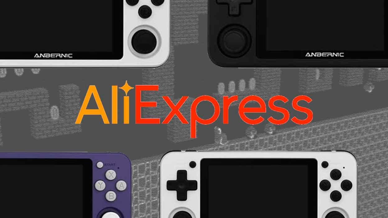 7 consolas retro-portátiles de oferta en Aliexpress 7