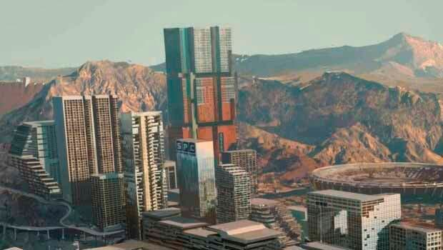La ciudad de Cyberpunk 2077 protagonista de varias imágenes 6