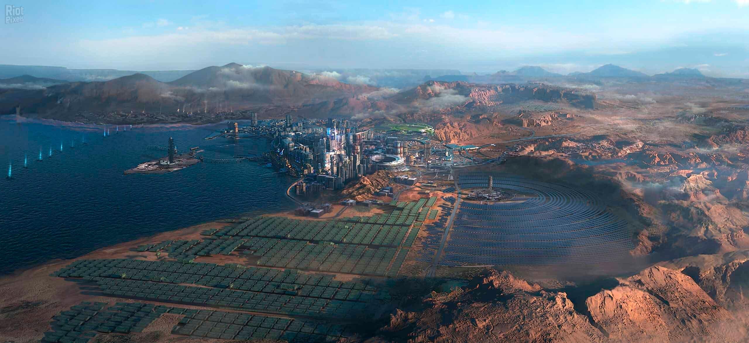 La ciudad de Cyberpunk 2077 protagonista de varias imágenes 2