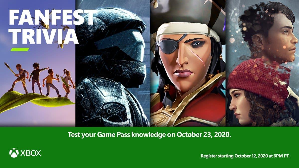Consigue grandes premios participando en el trivial de Xbox FanFest