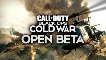 modo nunca antes visto estará disponible en la beta de Call of Duty Black Ops Cold War