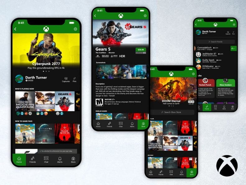 La nueva app móvil de Xbox pierde algunas características importantes 1
