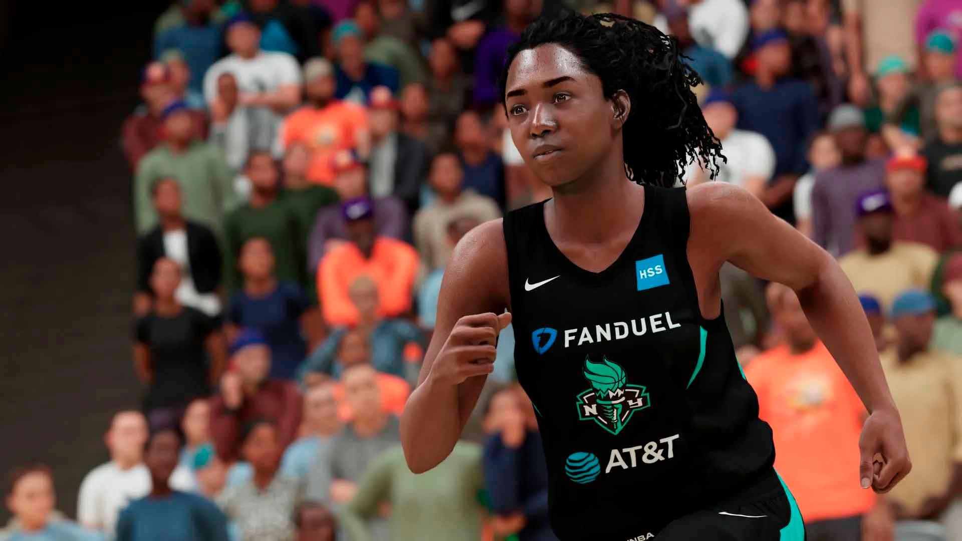 NBA 2K21 añade la WNBA a MyPlayer y otras opciones en la versión de nueva generación 4