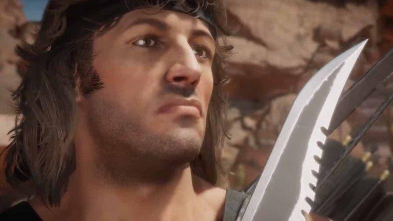 Mortal Kombat 11 descubre el primer gameplay de Rambo 1
