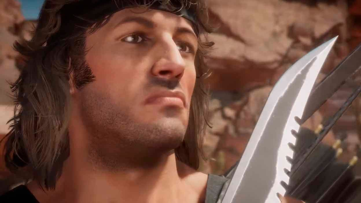 Mortal Kombat 11 descubre el primer gameplay de Rambo 16