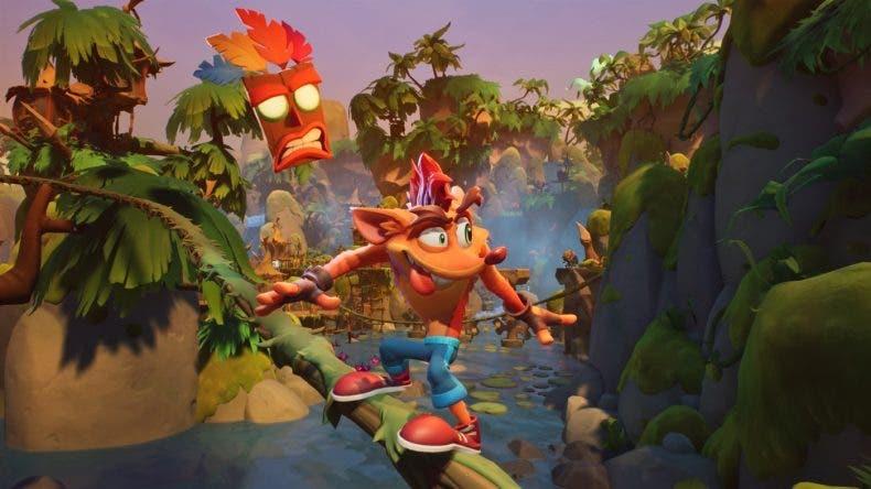 Xbox One X es la mejor consola en la que jugar a Crash Bandicoot 4 según Digital Foundry 1