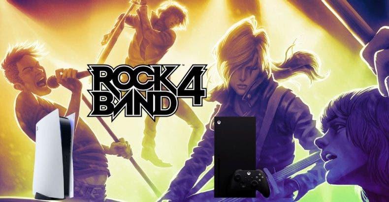 Rock Band 4 será compatible con Xbox Series X|S y PS5
