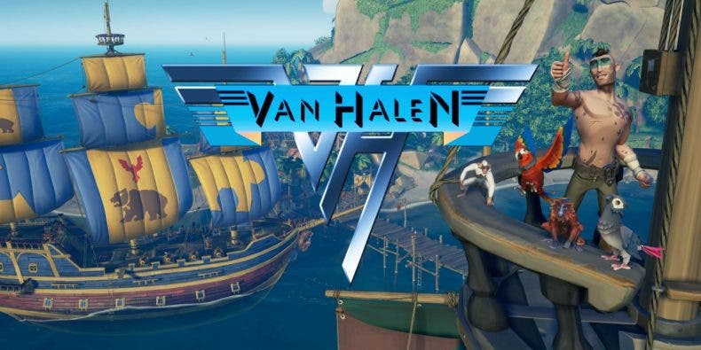 Sea Of Thieves rinde homenaje a Eddie Van Halen 1
