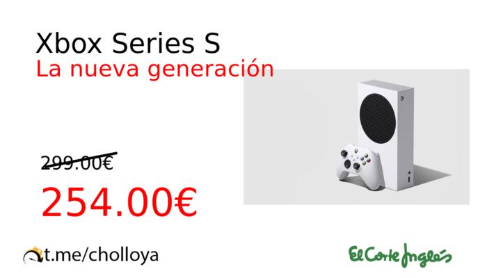 Consigue una Xbox Series S a un precio insuperable 1