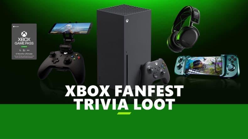 Consigue grandes premios participando en el trivial de Xbox FanFest 1