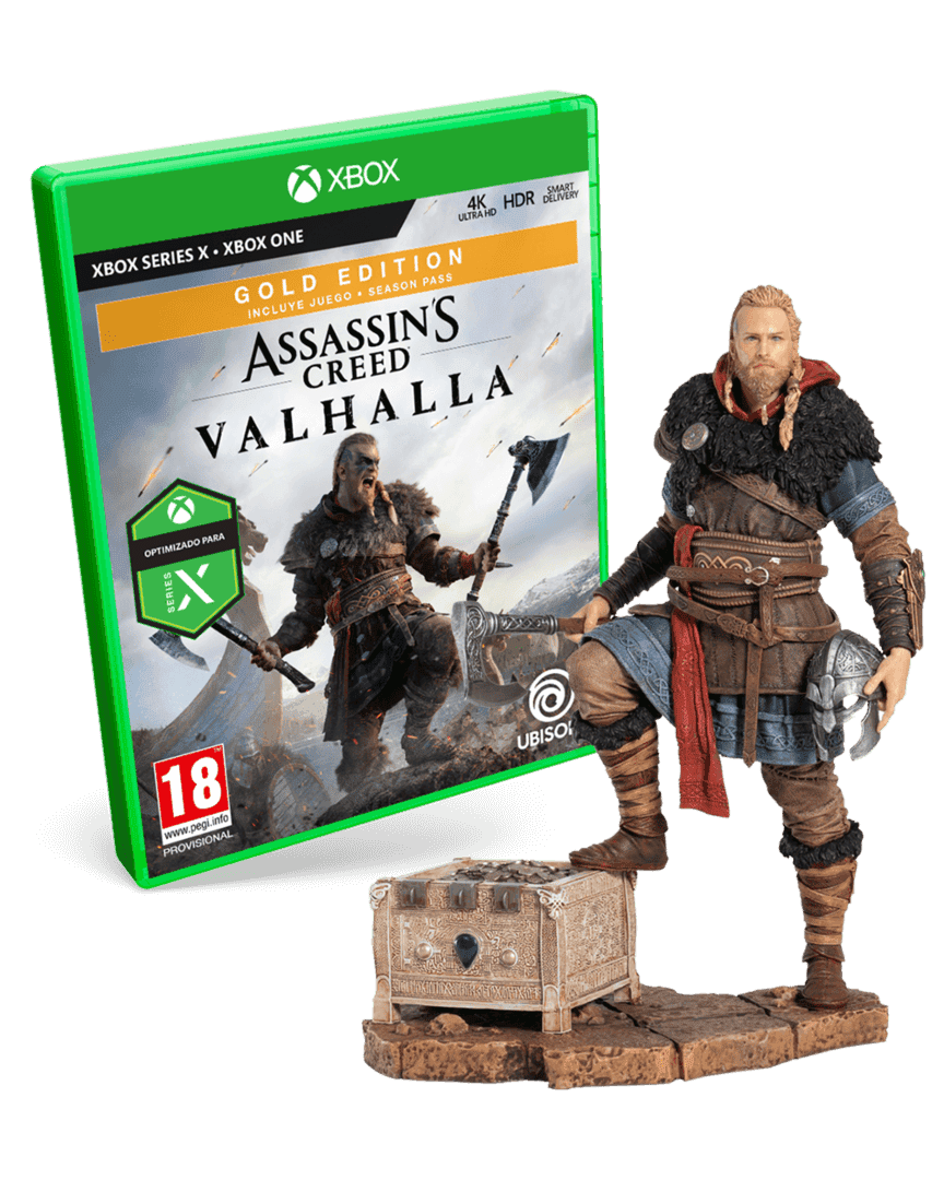Reserva con xtralife tu pack de Assassin's Creed Valhalla y consigue diferentes regalos. 1