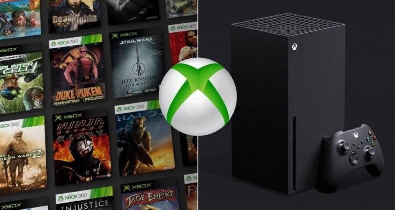 retrocompatibilidad de Xbox Series X|S