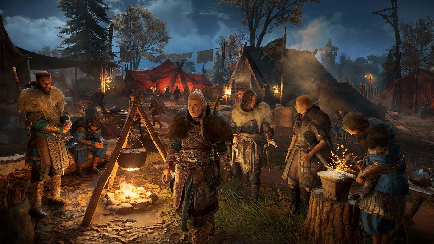 Microsoft desactiva el Quick Resume de Assassin's Creed Valhalla
