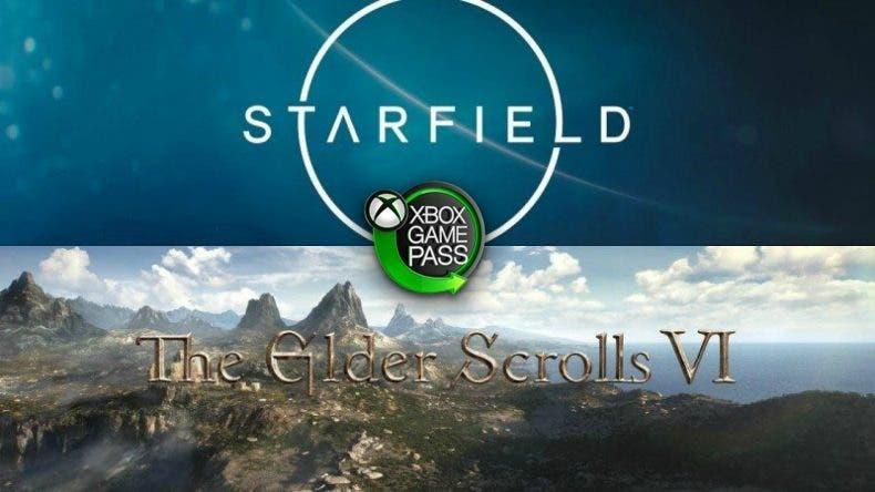 Starfield y The Elder Scrolls VI llegarán de salida a Xbox Game Pass