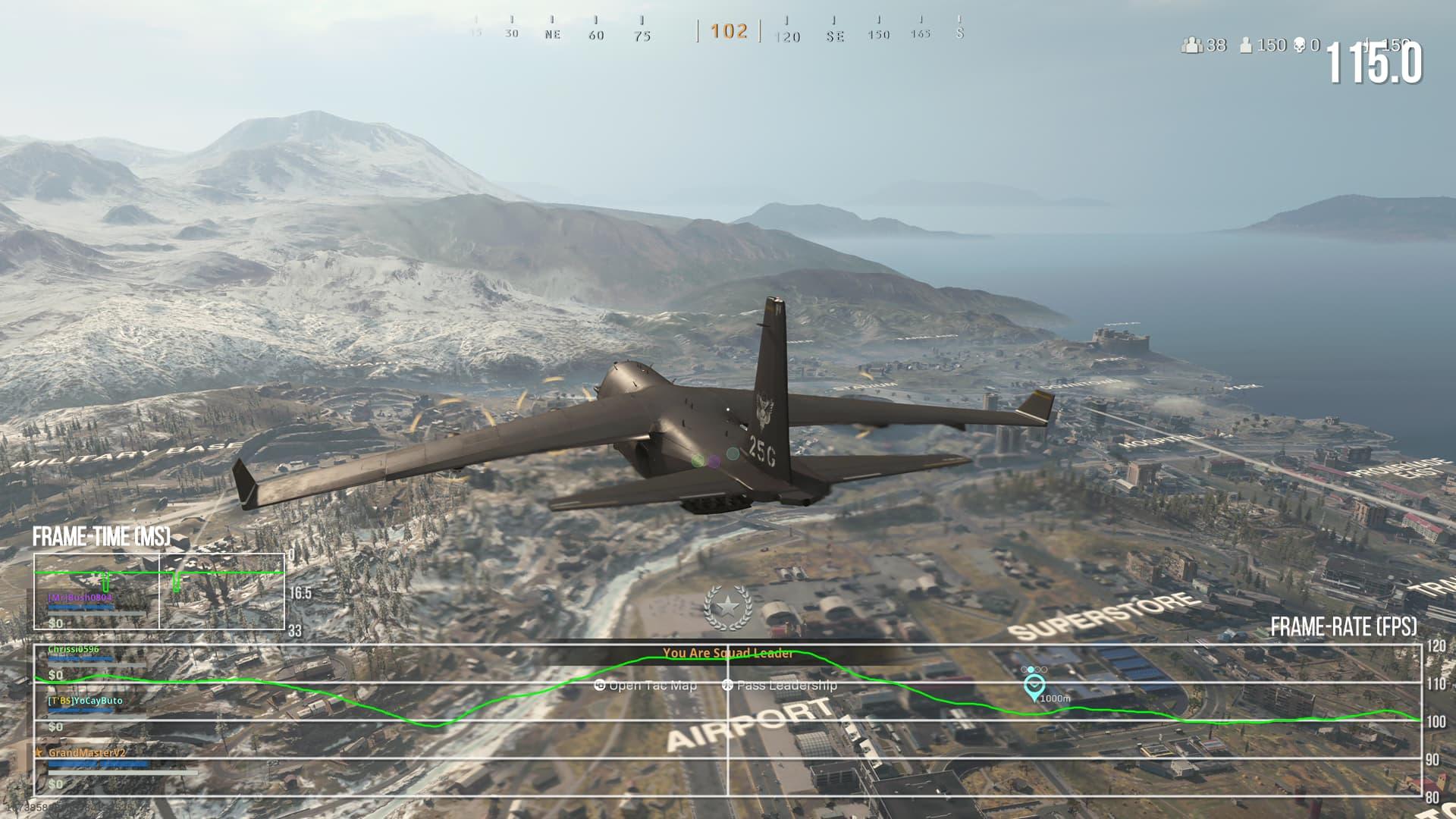 Call of Duty Warzone habilita los 120 fps en Xbox Series X y deja atrás a PS5 1