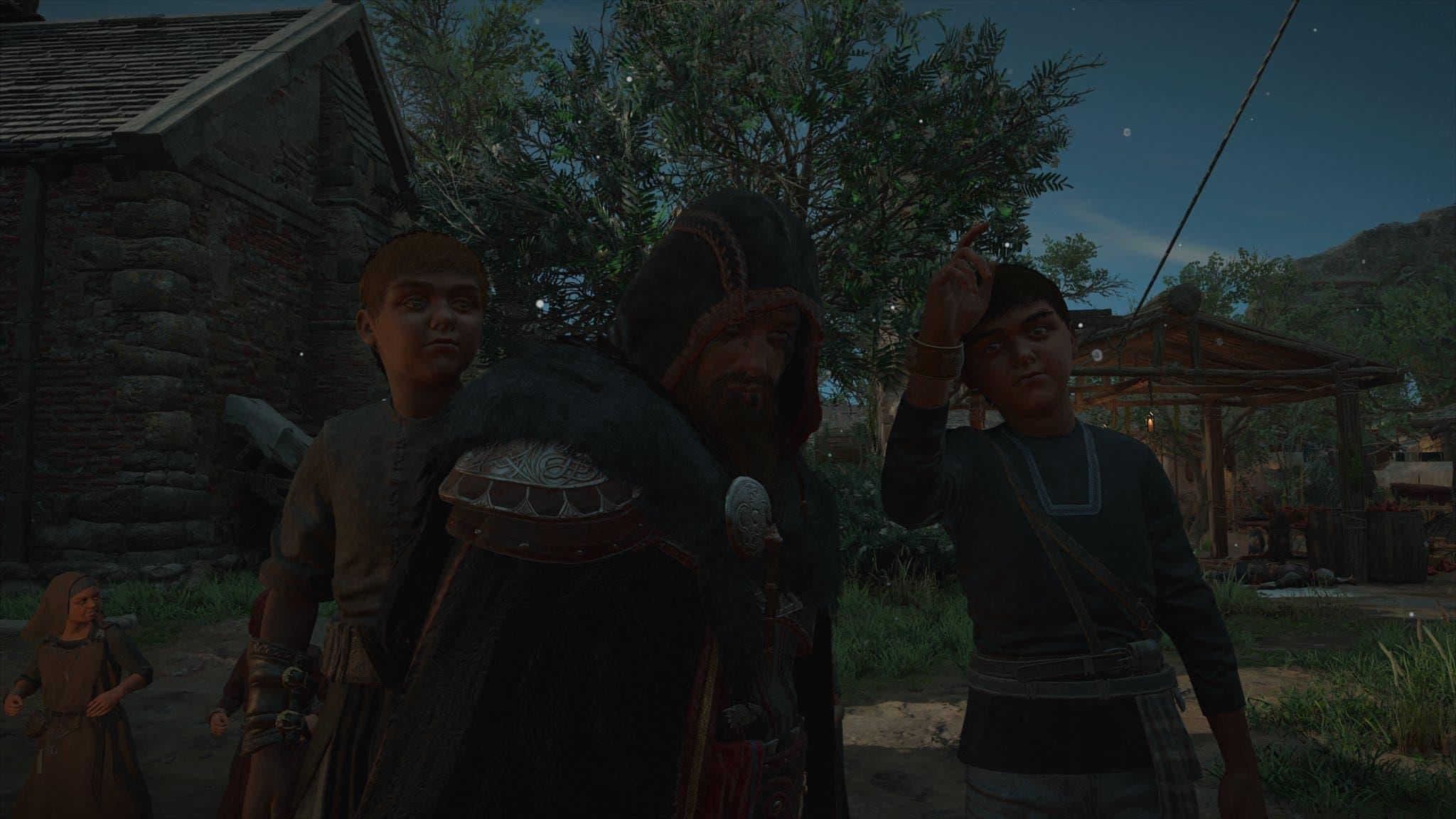 error en Assassin's Creed Valhalla hace que los niños sean enormes