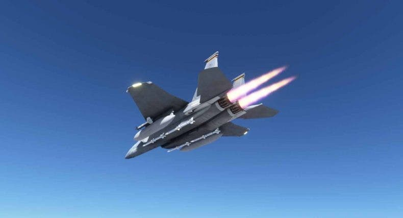 DC Designs muestra el F-15 que está preparando para Microsoft Flight Simulator 1