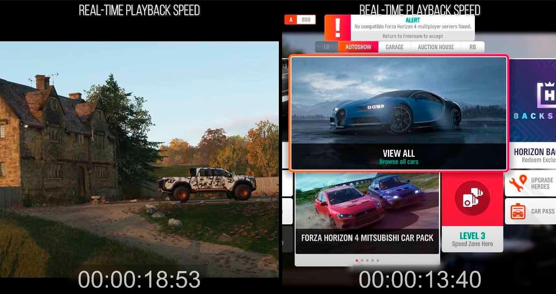 Analizan a fondo las mejoras de Forza Horizon 4 en Xbox Series X|S 2