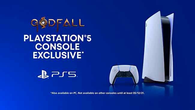 Godfall también llegaría a Xbox Series X, la exclusividad de Sony es de seis meses 2