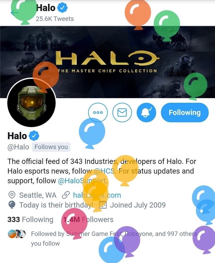 Halo está de aniversario de su lanzamiento