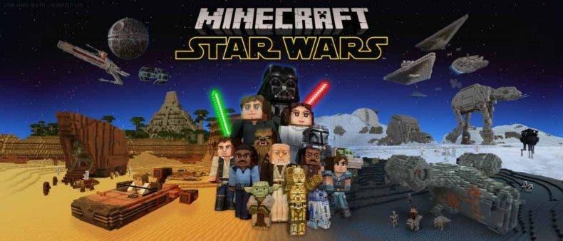 El universo de Star Wars llega a Minecraft en un nuevo pack de contenidos 1
