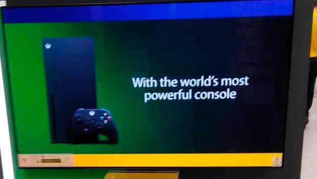 Así es el stand para Xbox Series X que preparan en las tiendas 1