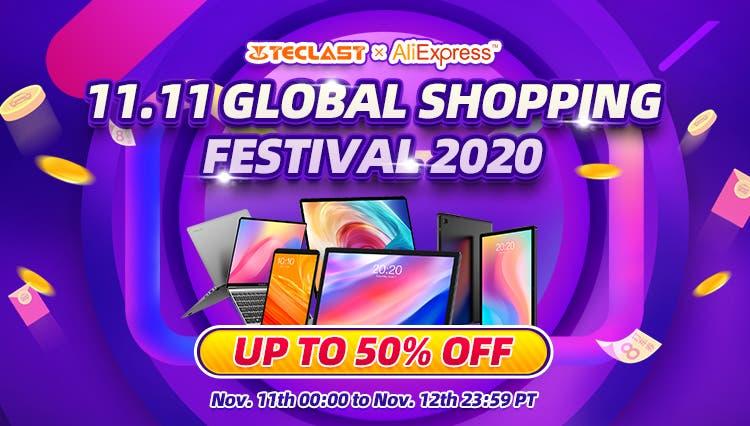 Teclast presenta sus atractivas ofertas para el 11-11 1