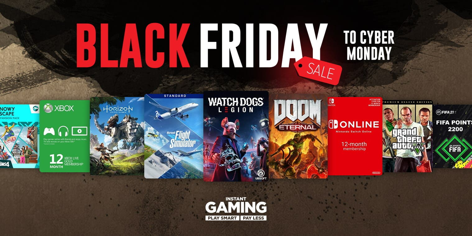 Comienza el Black Friday de Instant Gaming con las mejores ofertas para Xbox 4