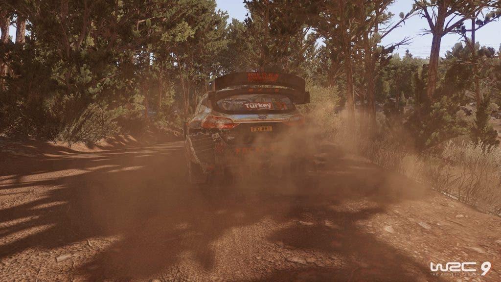 Análisis de mejoras de WRC 9 para Xbox Series X|S 2