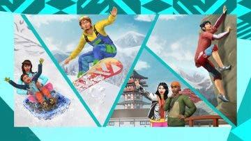 Vacaciones y encanto japonés con Los Sims 4: Escapada en la nieve 4